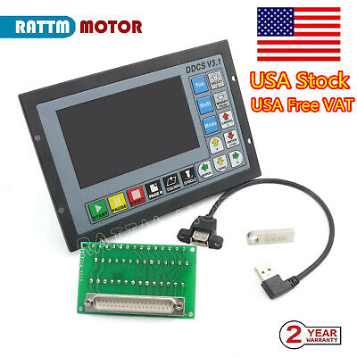 4 Axis 500khz Offline Motion Controller System Ddcsv3.1 For Cnc Router Machine