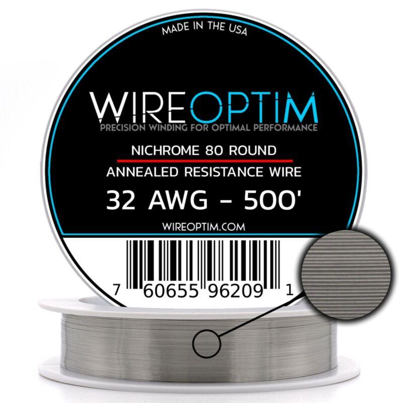 32 Gauge AWG Nichrome 80 Wire 500