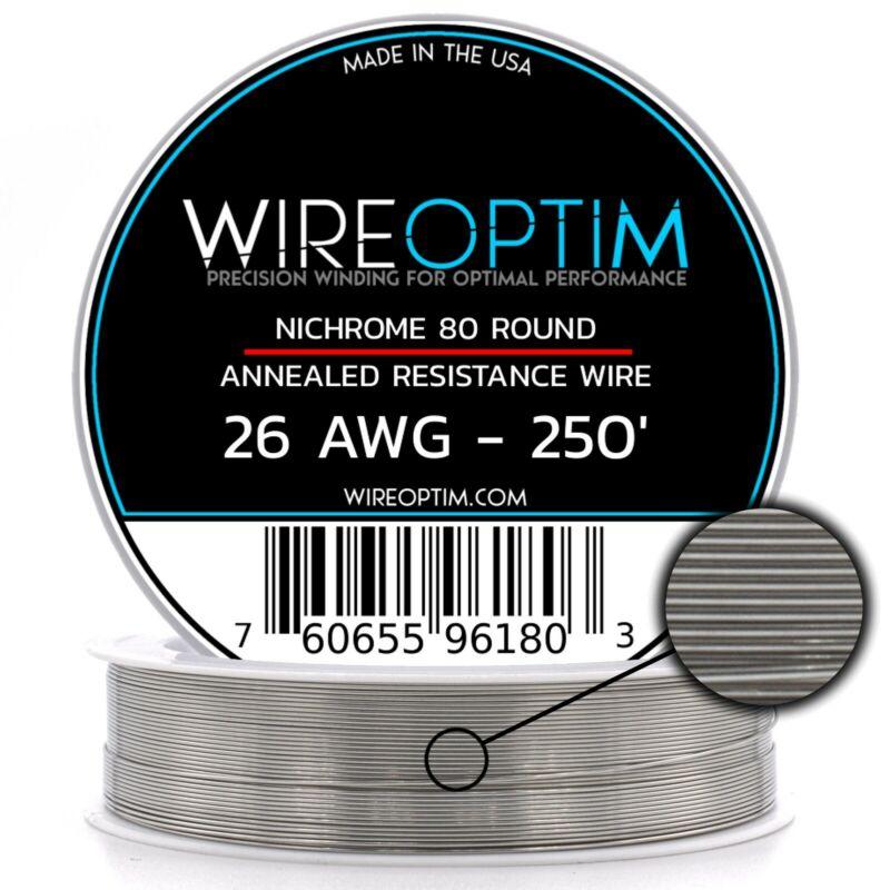 26 Gauge AWG Nichrome 80 Wire 250