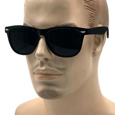 MENS XL Wide Frame Limo Tint Sunglasses Tall Super Dark Lens Gangster Big Fat (Big Frame Sunglasses Mens)