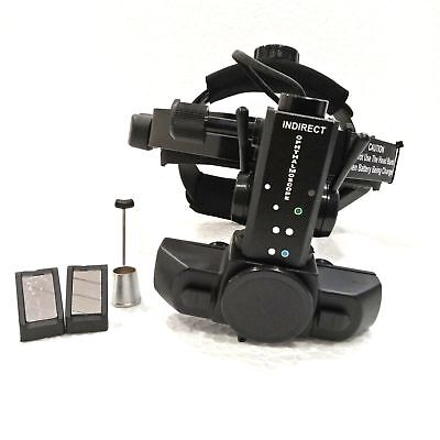 Wireless Binocular Indirect Ophthalmoscope With Accessories Optometry