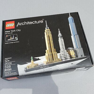 LEGO Architecture New York City 21028 NEW SEALED NIB