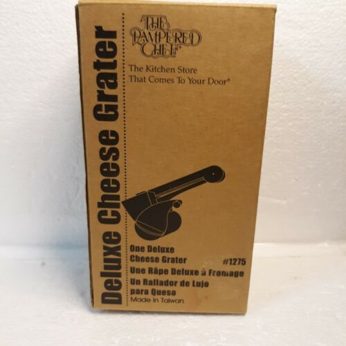 The Pampered Chef, Deluxe Cheese Grater, #1275.  comes with small & large grater