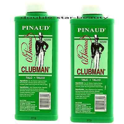 -  Clubman Talc by Ed Pinaud for Men  9 oz Powder -2 pack