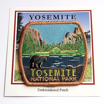 Official Yosemite National Park Souvenir Patch Black Bear California