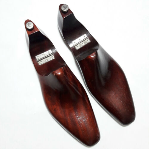 Ralph Lauren Purple Label Made in England Lacquered Shoe Trees Sz 9.5 - 10D 808