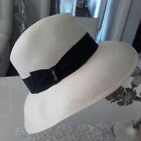 Cappello donna Borsalino TAGLIA S ( 55 - 56 CM ) Falda larga 9 cm Panama  Flapper. In vendita su 7ec43efd5099