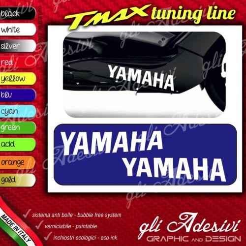 Set 2 Adhesives Motorcycle Tuning Tmax T Max Logo Full under Raised