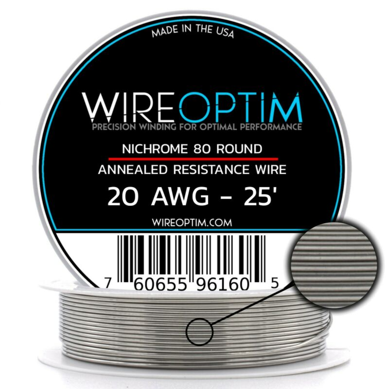 20 Gauge AWG Nichrome 80 Wire 25