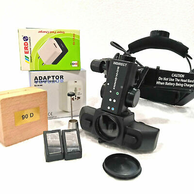 New Indirect Ophthalmoscope 90 D With Accessories Free Shipping