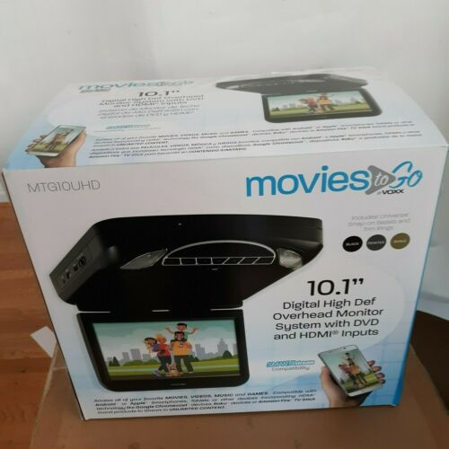 VOXX  MTG10UHD Digital High Def Overhead Monitor w/DVD , HDMI Imputs  System
