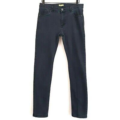 """VERSACE JEANS Couture Men's Black Denim Jeans 34x33.5 / Tag """"USA 38"""""""