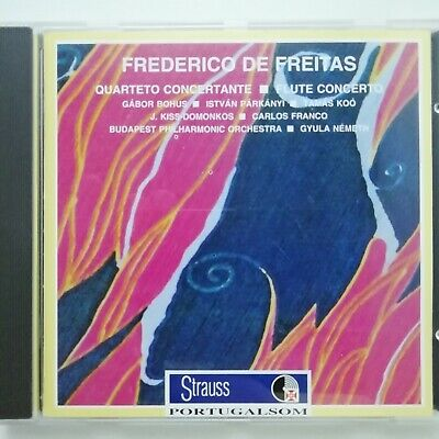 De Freitas, Frederico: Quarteto Concertante etc / Strauss Portugalsom CD SP 4040