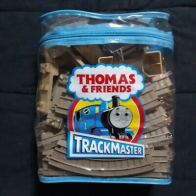 Thomas & Friends Trackmaster Tan Deluxe Expansion Track Pack 44 PC Lot Backpack