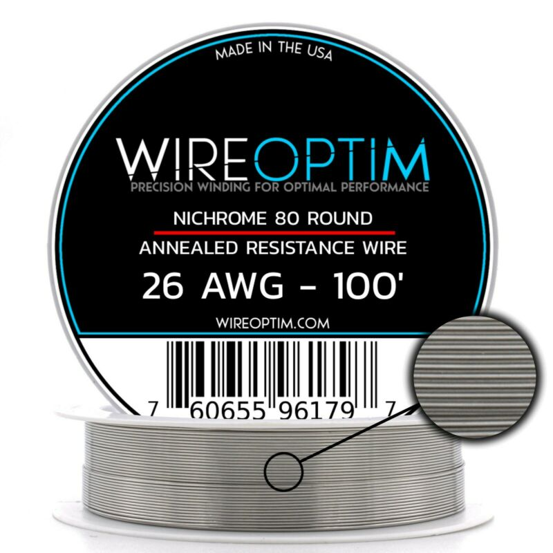 26 Gauge AWG Nichrome 80 Wire 100