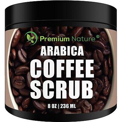 Arabica Coffee Scrub Best Skin Exfoliator For Face Hand Lip &