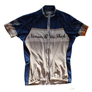 Sugoi 'Noosa Bike Shop' Cycling Jersey (SIZE:S)