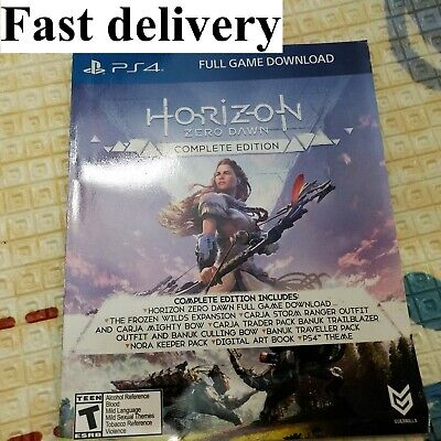 Horizon Zero Dawn Complete Edition Digital Download Card Sony PlayStation 4 PS4 comprar usado  Enviando para Brazil