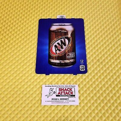 Dixie Narco 501e 276hvv Soda Vending Machine A W 12oz Can Vend Label