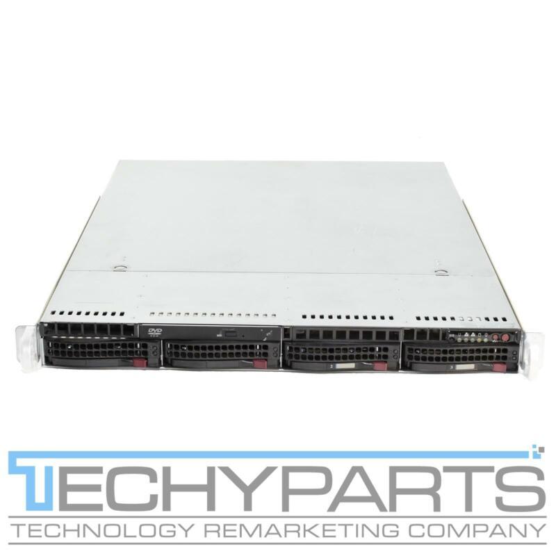 "SUPERMICRO SYS-6016T-NTRF X8DTU-F 2x XEON LGA1366  1U 4x3.5"" bay Server CTO"