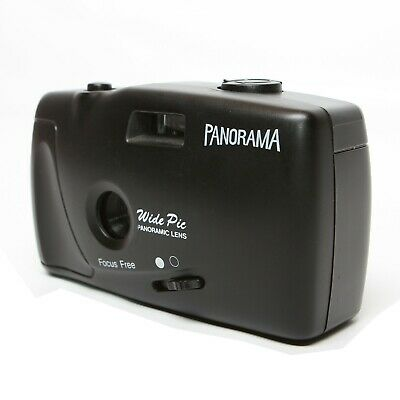 Panorama Film Camera Point And Shoot 35mm Wide Pic Panoramic Lens Tested