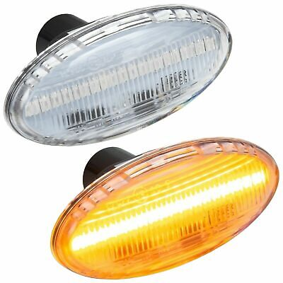 2x Mazda 6 GY 18-LED Front Indicator Repeater Turn Signal Light Lamp Bulbs