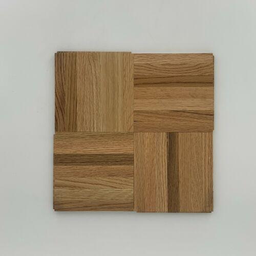 "Parquet Oak Floor Tile Armstrong 12""x12""x7/16"" Foam Back Natural 1 Box = 25 SQFT"