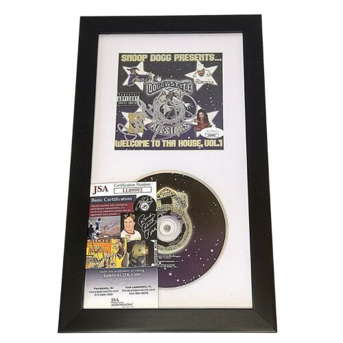 Snoop Dogg Signed Welcome To Tha House Vol 1 CD Cover Framed JSA Autograph Cert