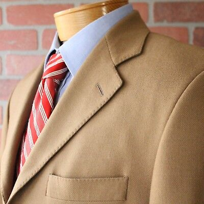 Arnold Brant Saks Fifth Avenue Brown 100% Cashmere Sportcoat Canada 38S