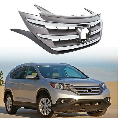Front Hood Bumper ABS Grille Grill For Honda CRV CR-V 2012 2013 2014