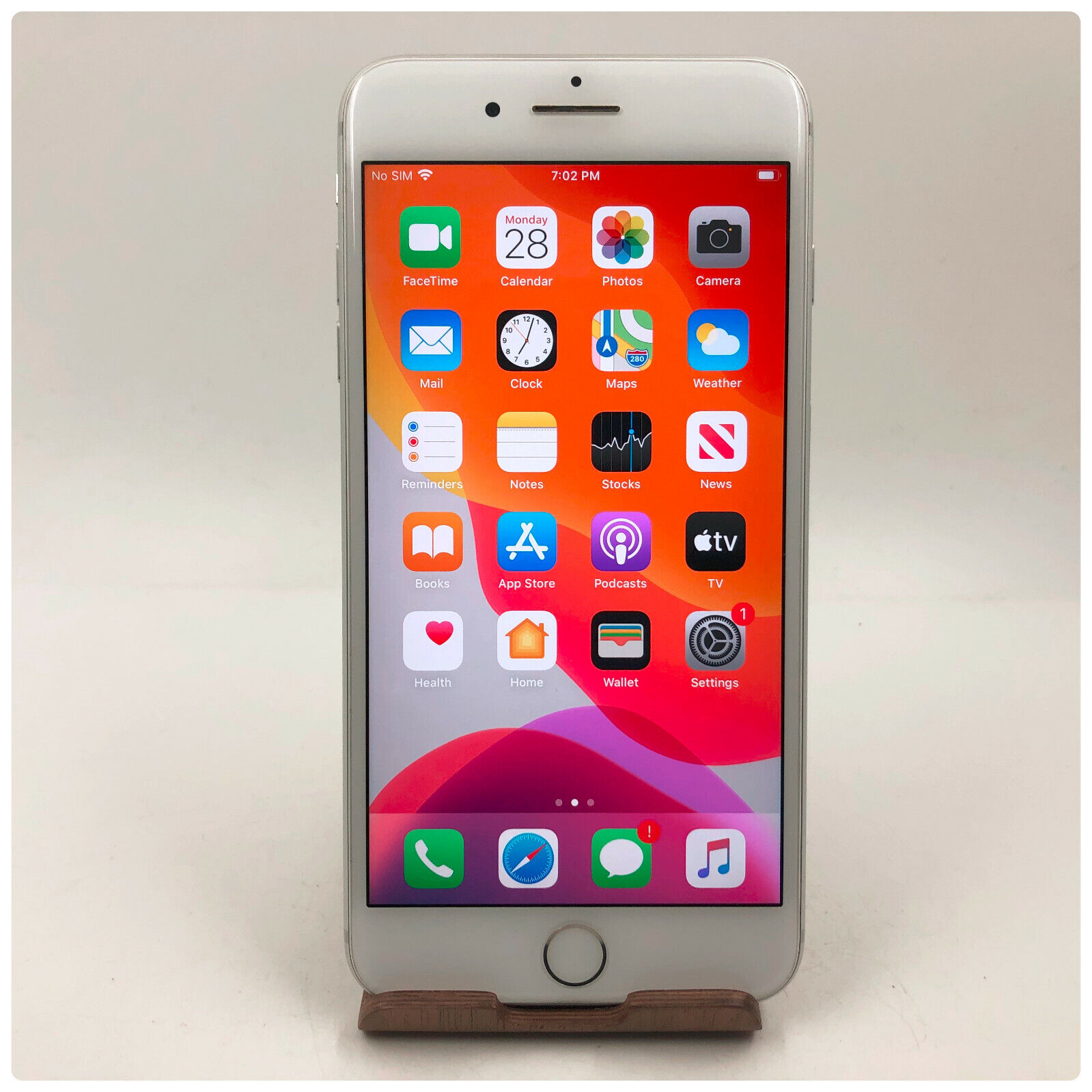 Apple IPhone 7 Plus 32GB Silver Unlocked A1661 CDMA GSM Excellent - $239.99