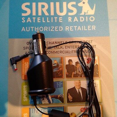 OEM Sirius XM PowerConnect Car Power Adapter Cord SXDPIP1