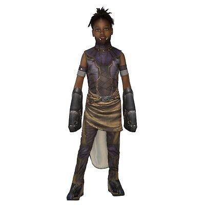 Girl's Marvel Black Panther Shuri Wakanda Sister Halloween Costume Child S M L