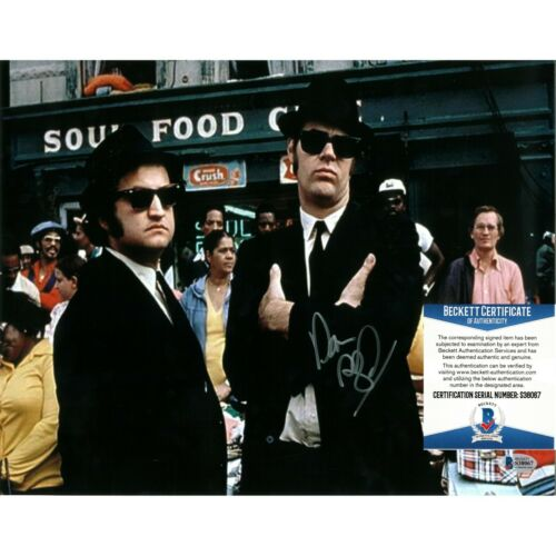 Dan Aykroyd Signed The Blues Brothers 11x14 Photo Beckett BAS Autograph Cert COA