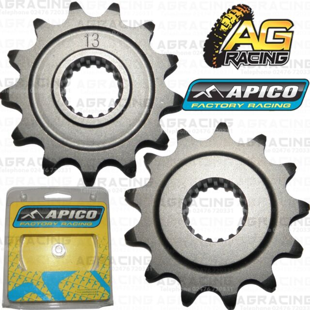 Apico Front Sprocket 13T Teeth Tooth For Honda CR 500 500R 1988-2008 Motocross