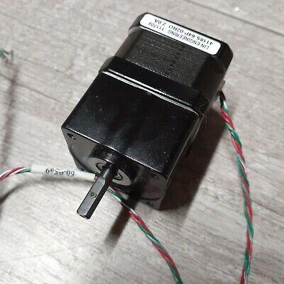 Lin Engineering 4811s-64p-02r0 Nema 17 Step Motor Planetary Gearbox 140 Oz-in
