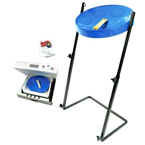 "mini Steel Drum, from the world leader in PAN ""Jumbie"" ----WITH STEEL STAND!"