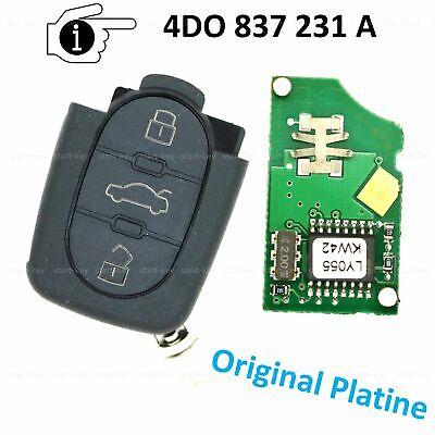 Funkschlüssel Schlüssel Silikon Hülle für Audi A2 A3 A4 A6 A8 TT