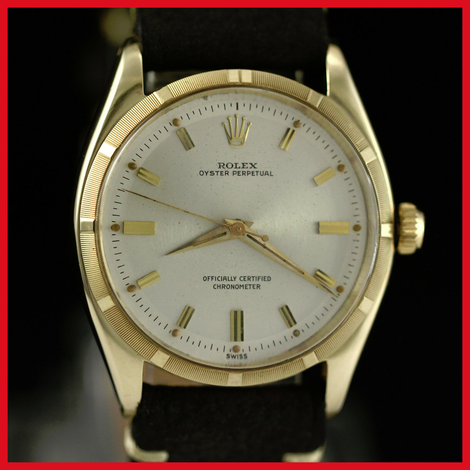 vintage mens rolex wristwatches vintage rare rolex 6565 oyster perpetual 14k solid yellow gold mens watch