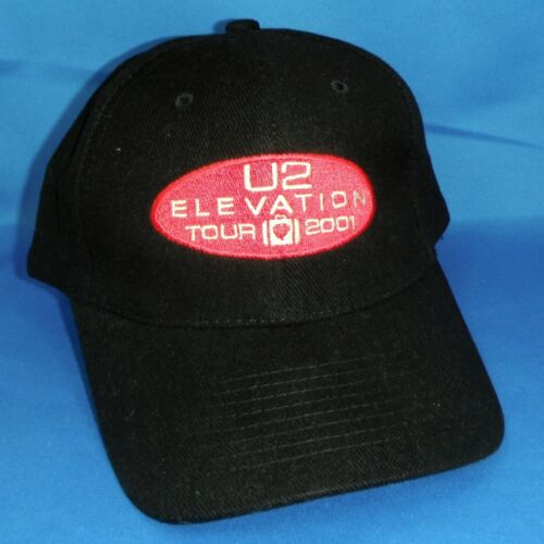 U2 Elevation 2001 TOUR Hat - NEW Condition