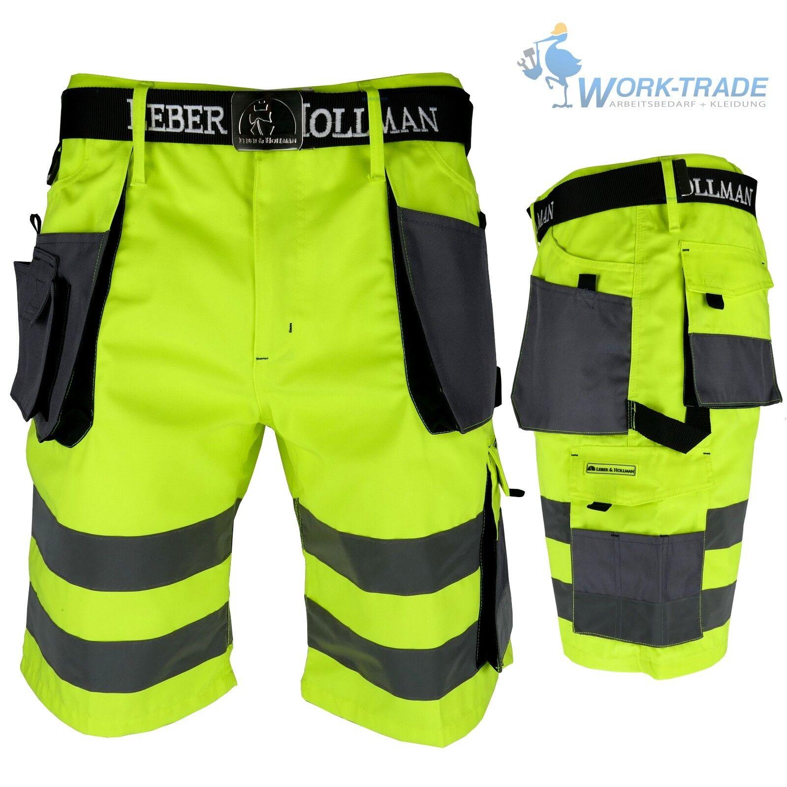 Arbeitshose Kurze Hose Kurz Bermuda Shorts Gelb Grau Gr. S - XXXL