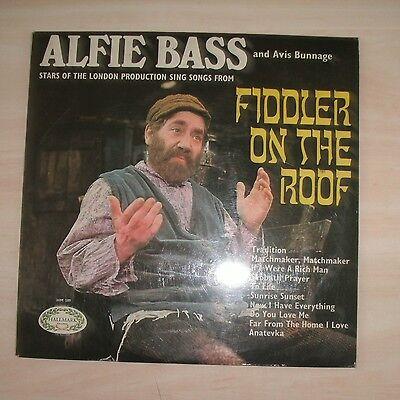 ALFIE BASS / AVIS BUNNAGE - Fiddler On The Roof (Vinyl Album)