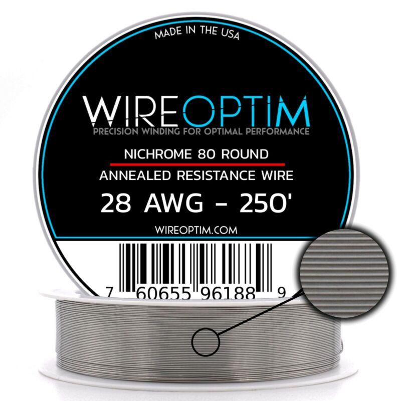 28 Gauge AWG Nichrome 80 Wire 250