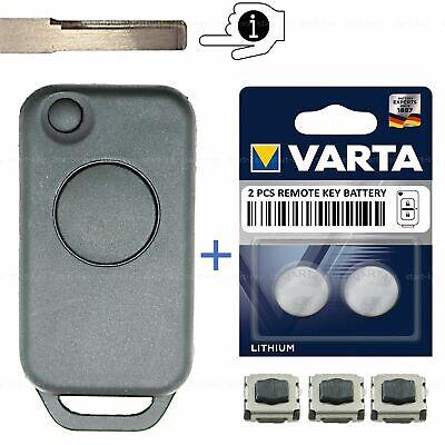 Schlüssel Ersatz Gehäuse für Mercedes E C S SL Klasse R129 W140 R170 W202 W210