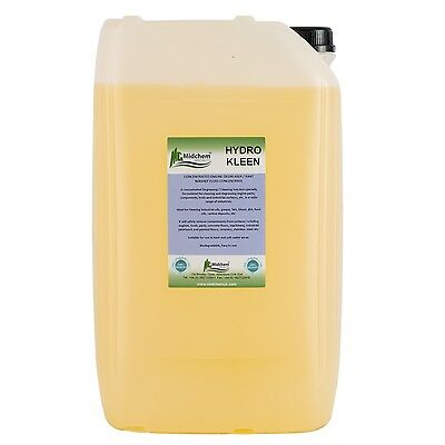 Engine Degreaser Concentrate & Parts Washer Fluid Heavy Duty 25 Ltr Dilute 20:1