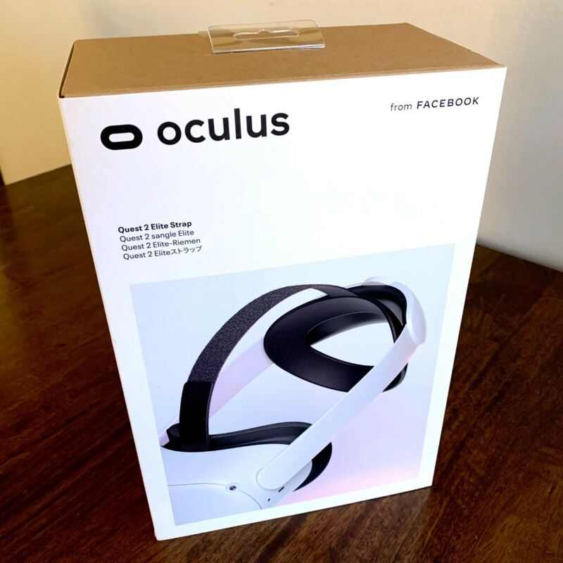 Oculus Quest 2 Elite Strap VR - Authentic Oculus - (Sealed) - In Hand to Ship