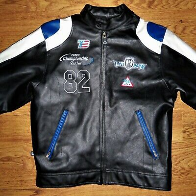 First Down High Performance Gear TB 82 Turbo Championship Series Leather Jacket