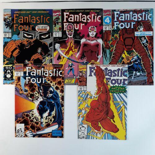 Fantastic Four 5-ISSUE LOT  #350 351 352 353  359  1st Mr Mobius  TVA  Dr Doom