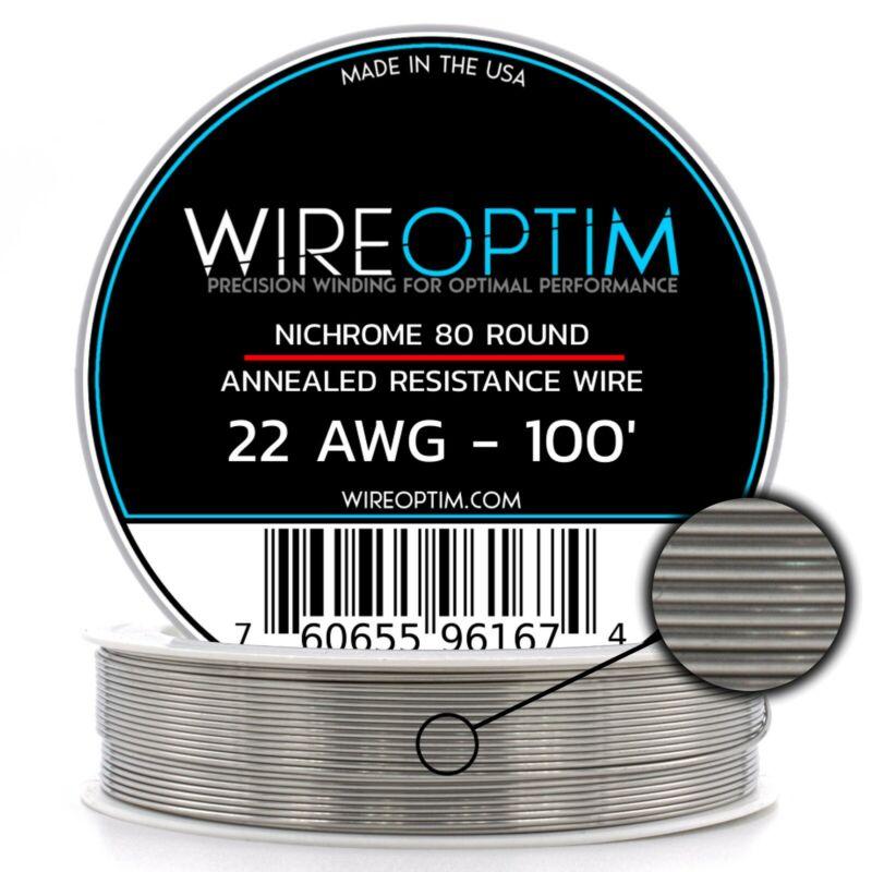 22 Gauge AWG Nichrome 80 Wire 100