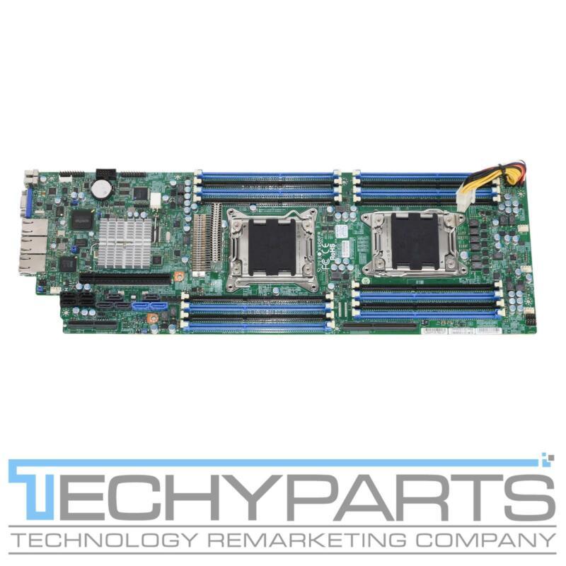 Supermicro X9DRFR Intel c602 Dual LGA2011 Node Motherboard System Board